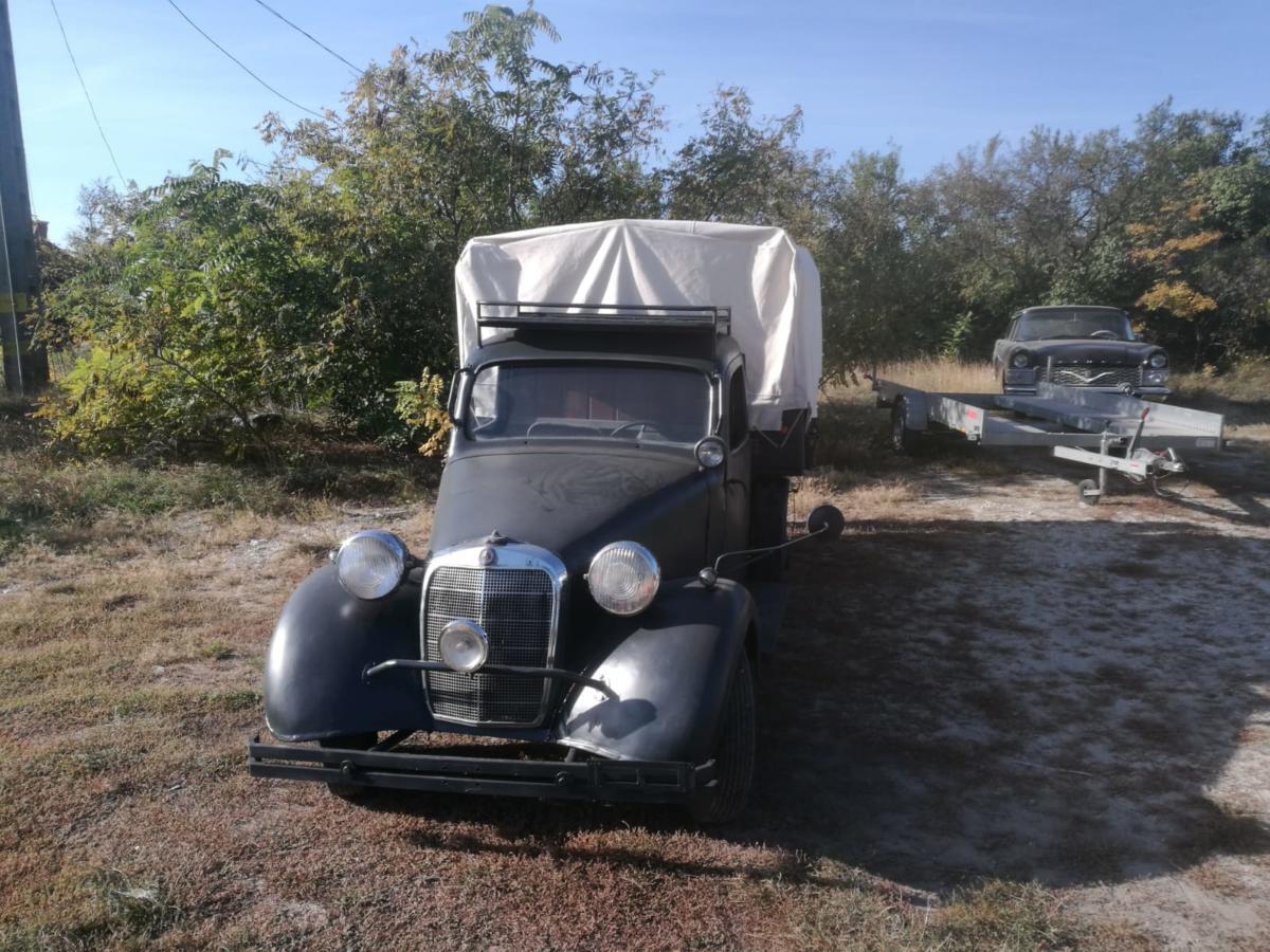 Mercedes 170 platós 1